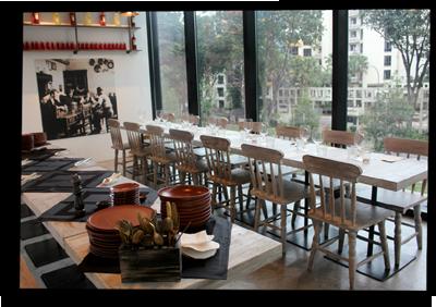 Italian Restaurant in HillV2, Singapore