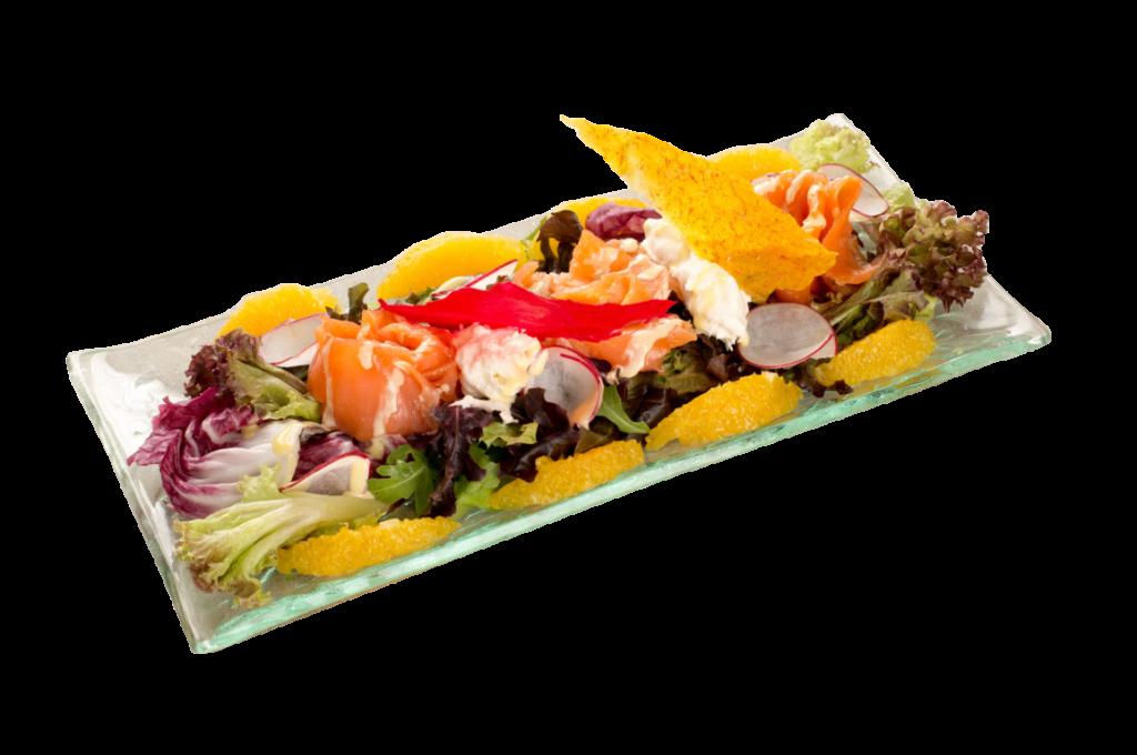 Salmon salad 280@2x- iO Osteria Bangkok - Best Italian Restaurant Bangkok
