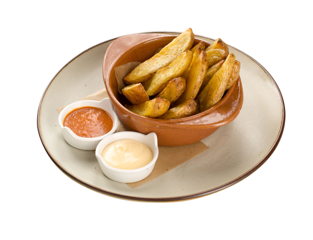 handcut potatoes fries